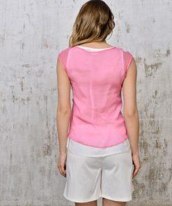Silk&light cotton top_id121-2