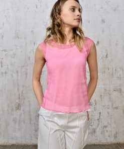 Silk&light cotton top_id121