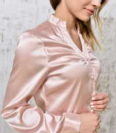 Blouse silk quartz 1