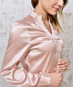 Blouse silk quartz__ID371