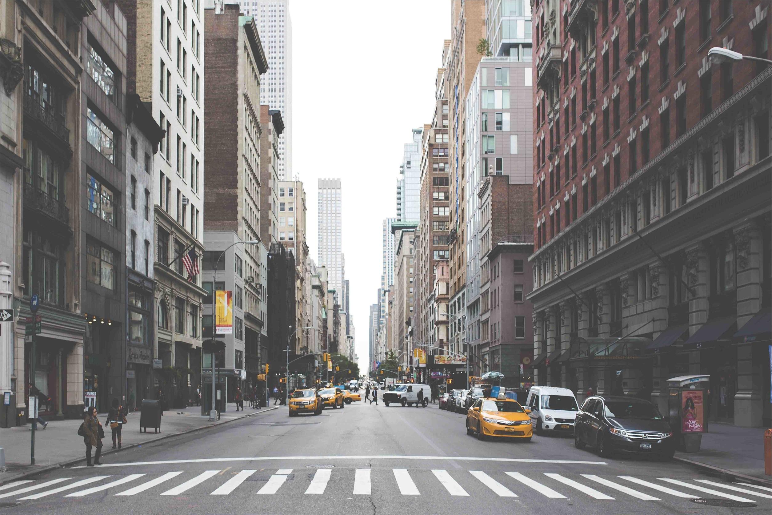улочка в Нью-Йорке  № 1431667  скачать