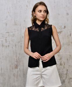 Lace-paneled-silk-shirt-1