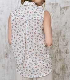 Top birds print back