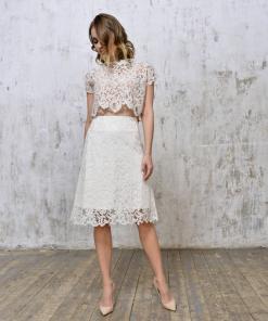 Lace-midi-skirt