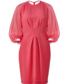 Crep-shifon-dress