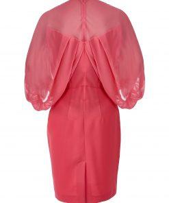 Crep-shifon-dress-back