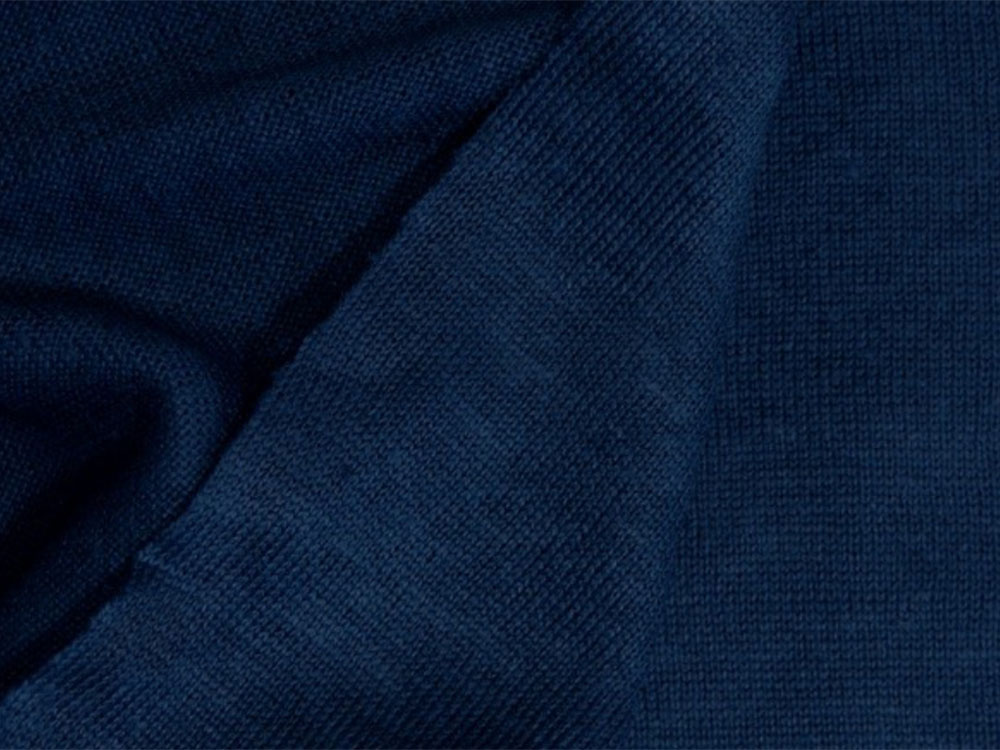 NEW! Bio Jersey de lin – Dark blue