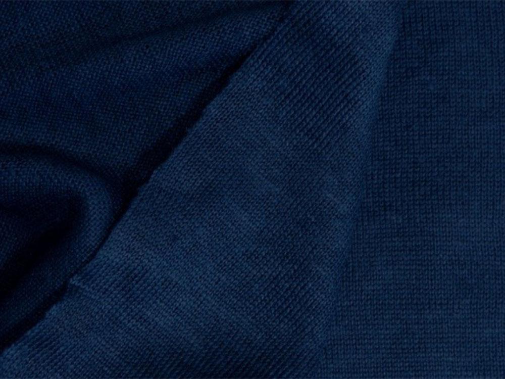 NEW! Органическое джерси лен – темно-синий цвет