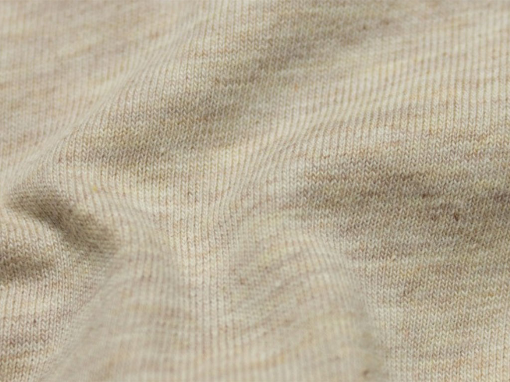 NEW! Organic jersey fabric – Ecru
