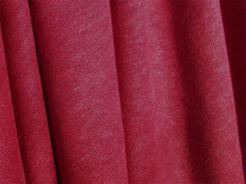 NEW! Органическое джерси лен – красный цвет