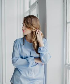 Dressarte-blue-silk-blouse