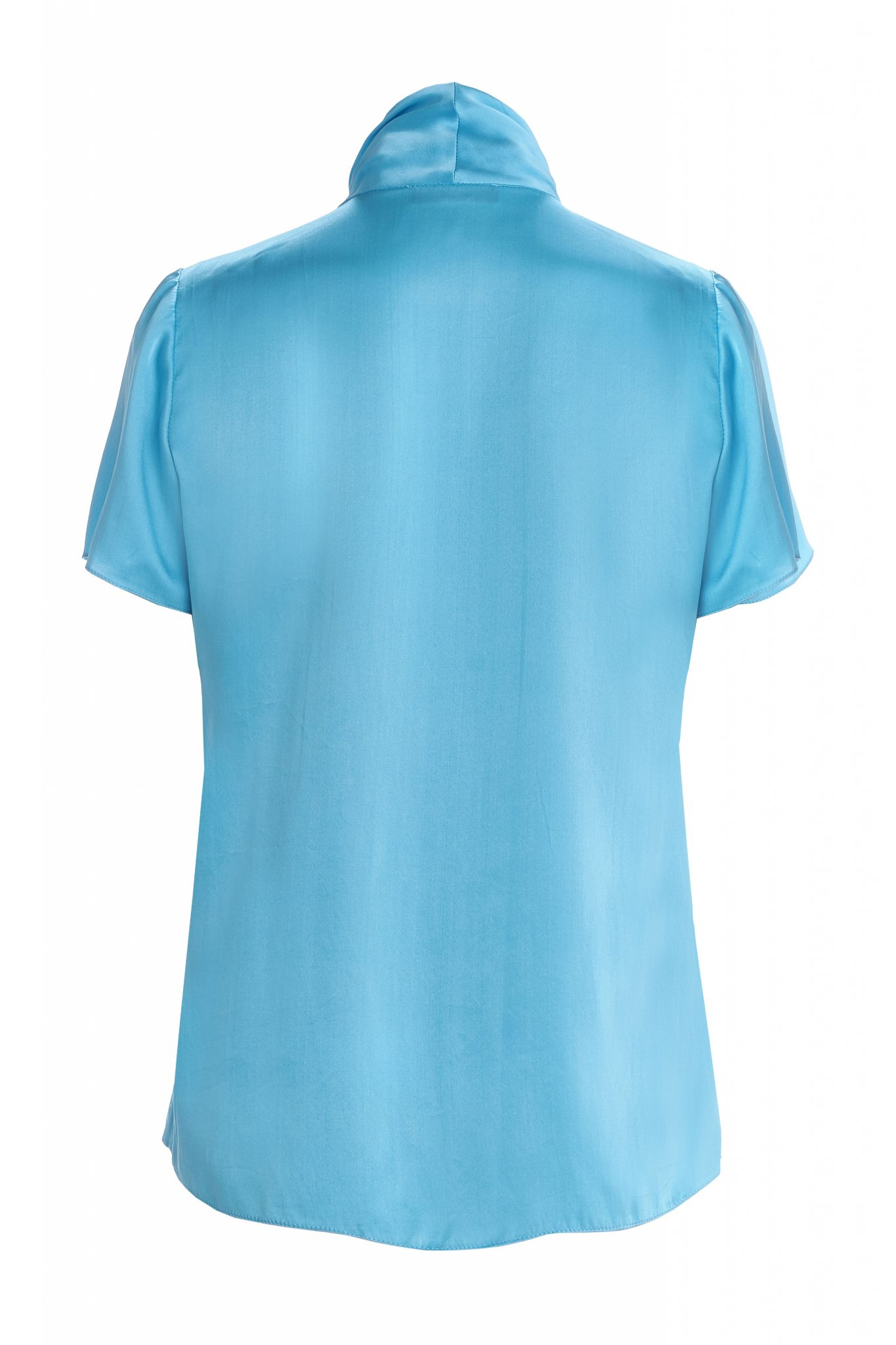 Blue-silk-long-sleeve-made-to-measure-blouse