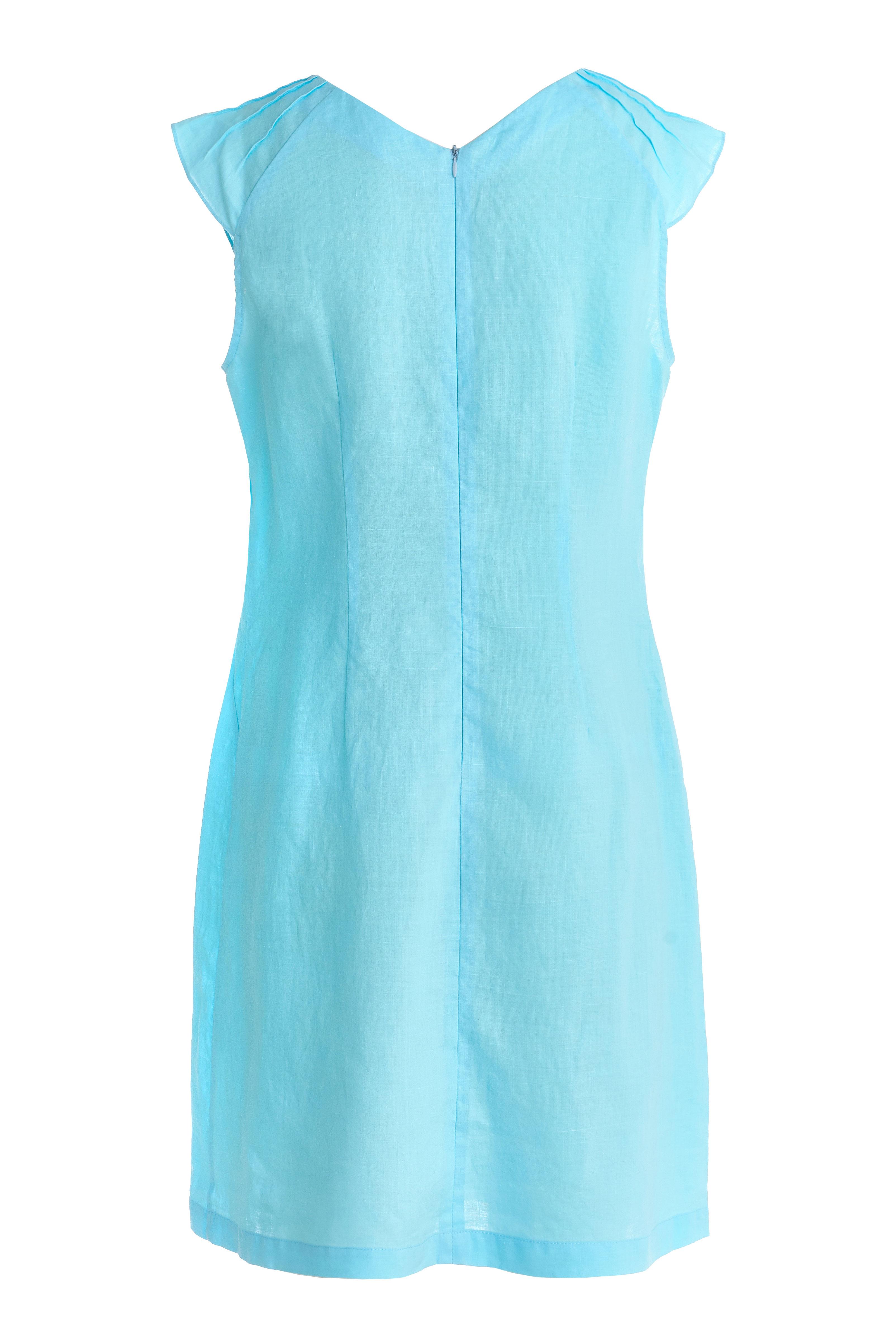 голубое-платье-без-рукавов-из-крапивы