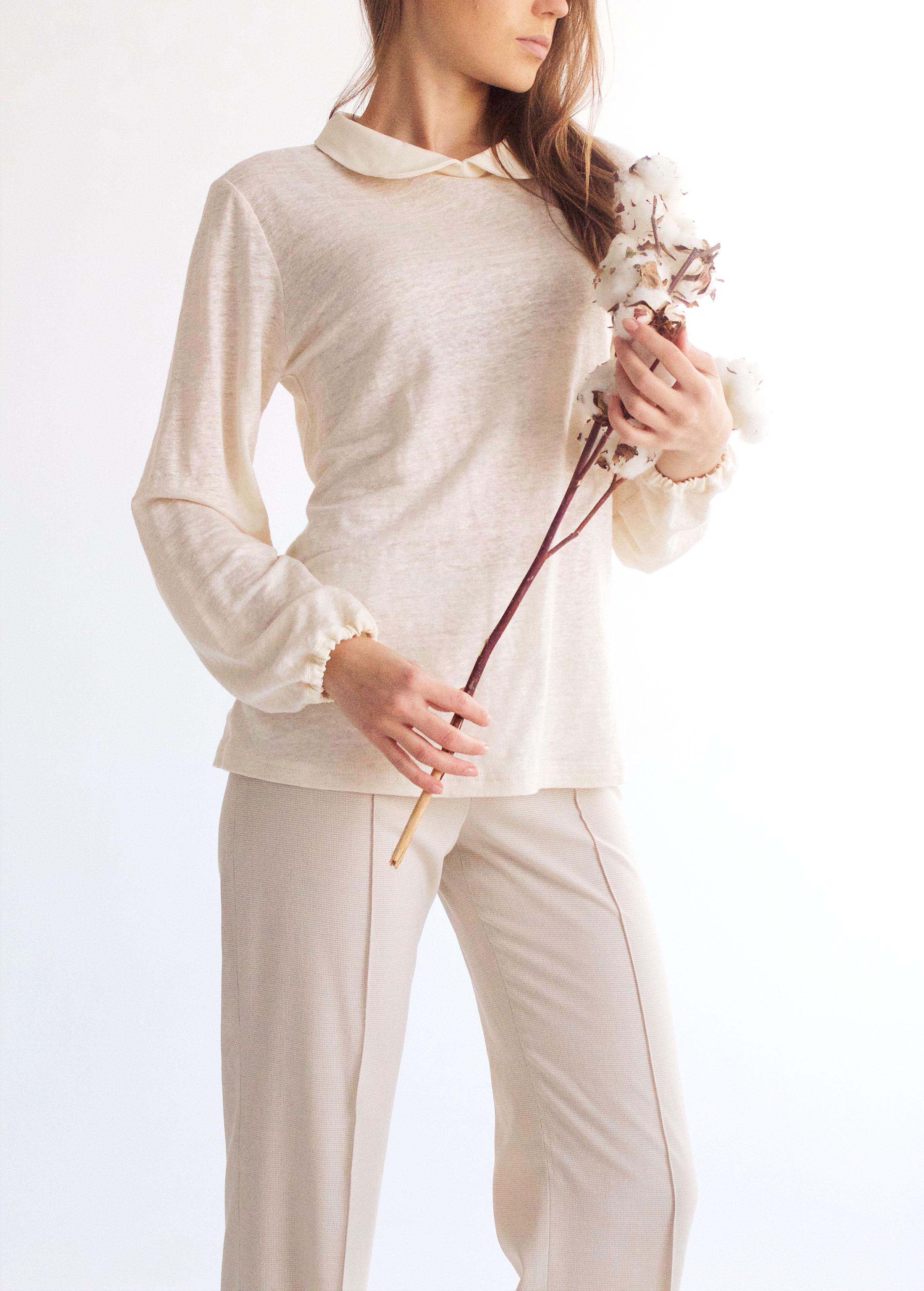 Блузка органический лен