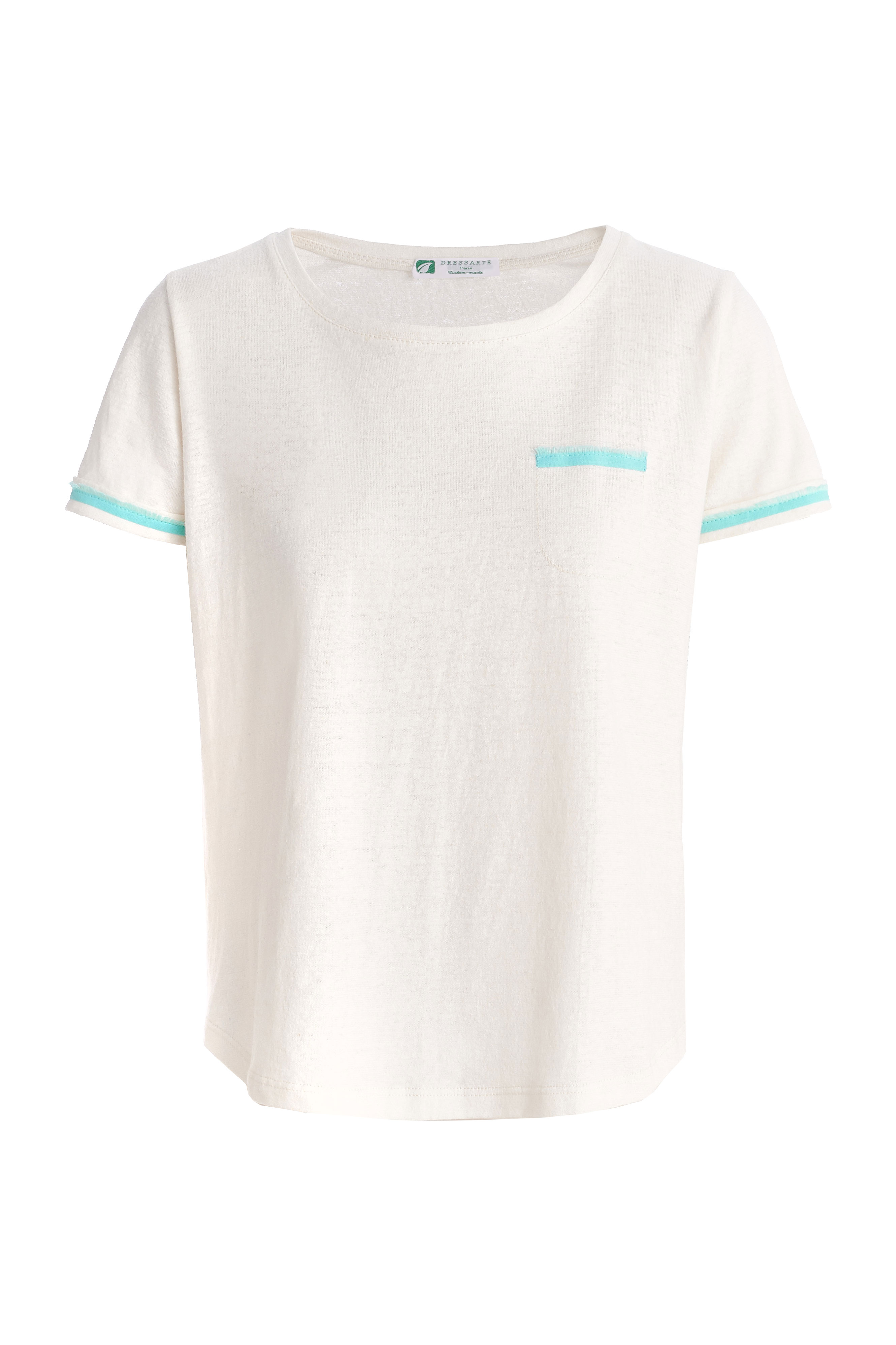 Organic-cotton-hemp-elegant-women-tshirt